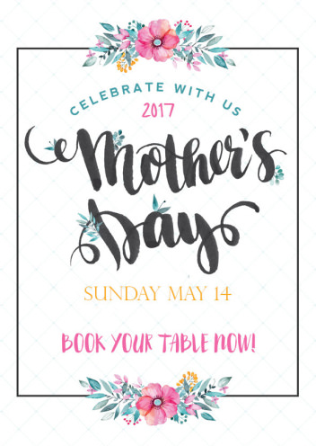 Celebrate Mother's Day At Feast