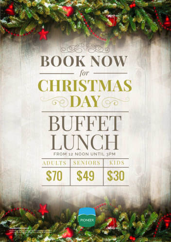 Christmas Day Buffet Lunch