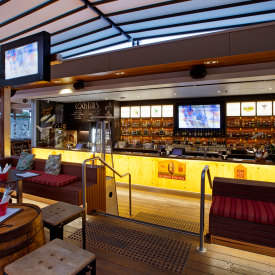 Enjoy Our Relaxed Dining At Brunswick Hotel Triple Threat Burger Al Fresco In New Farm
