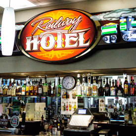 Welcome To The Railway Hotel Has All Of Your Favourite Beverages Ready And Waiting For You Enjoy