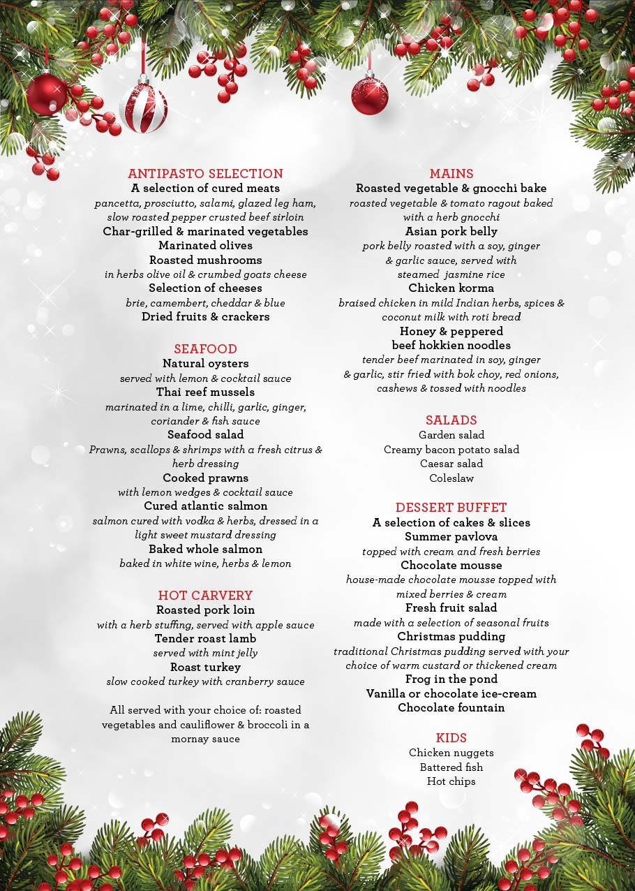 Shoppingtown Hotel Christmas Day Lunch tickets (Shoppingtown Hotel ...