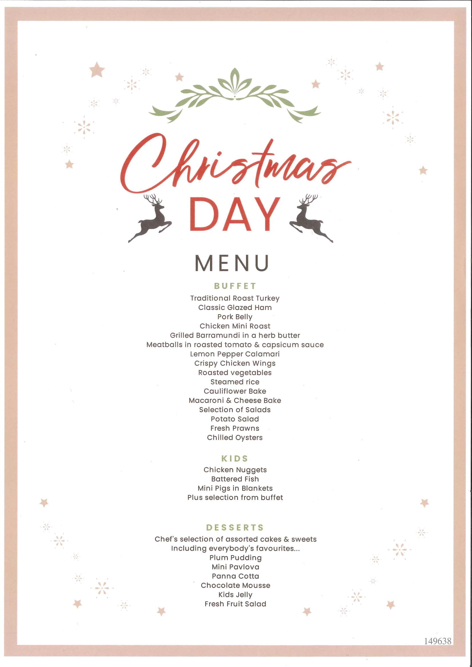 Deception Bay Tavern Christmas Day Lunch tickets (Deception Bay ...